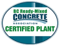 BC Ready Mixed Concrete - Certified Plant